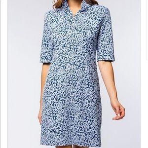 Tyler Boe, Constance ruffle collar dress, size XS